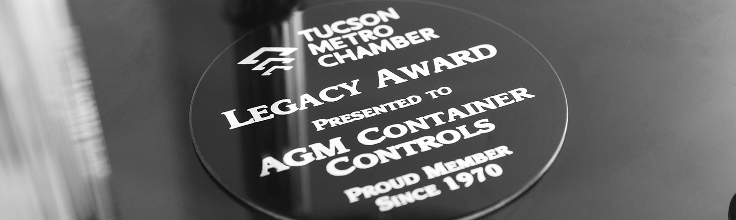 The Tucson Metro Chamber of Commerce is recognizing AGM with a Legacy Award