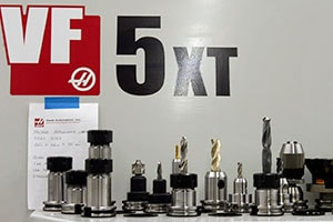 AGM's Machine Shop utilizes a number of Haas CNC machines for their machining services.