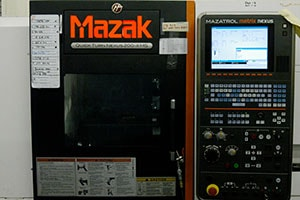 AGM's Machine Shop utilizes a number of Mazak CNC machines for their machining services.