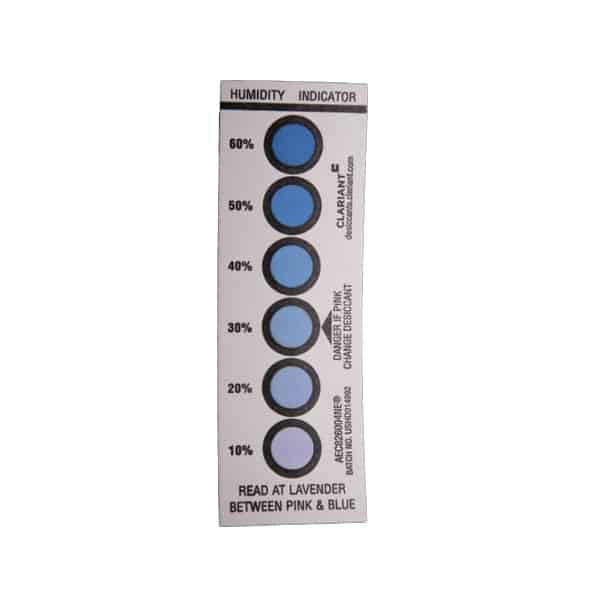 10-60% Reversible Humidity Indicator Card