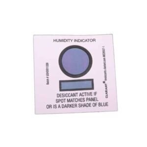 8% Spot Match Reversible Humidity Indicator Card
