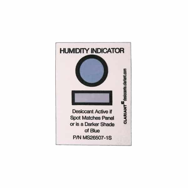 8% Spot Match Reversible Small Humidity Indicator Card