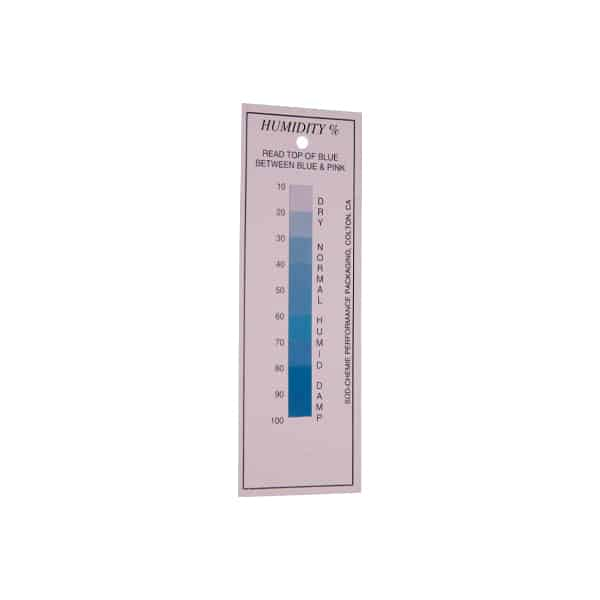 10-100% Reversible Humidity Indicator Card