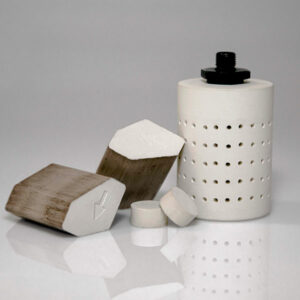 AGM's H2OLock Advanced Desiccant can be pressed into various sizes and shapes.