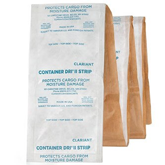 Container Dri II Tyvek - Adhesive Backed bag