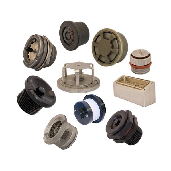 custom breather valves