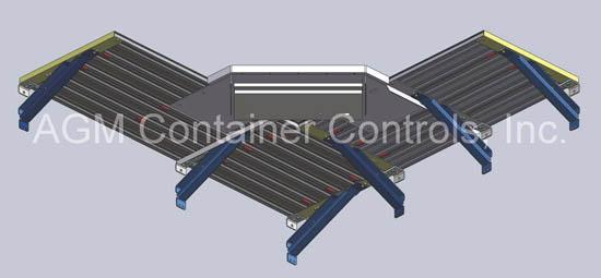 Tie Down Shelving Corner - View from Below