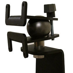 Tie Down Shelving - Monitor Mount - View of Ball Joint