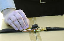 Step 4 how to thread over-center tie down buckles