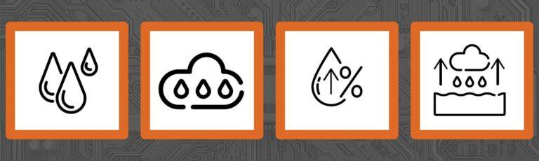 Humidity Icons