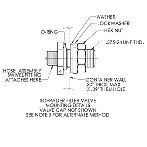Filler Valves Drawing