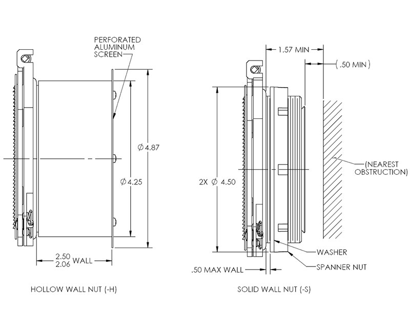 TA820 two-way breather valve drawing